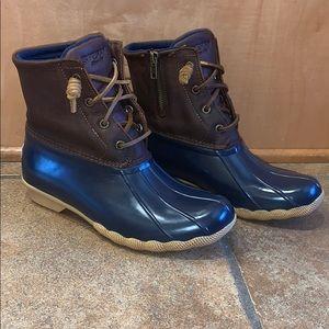 Women's Sperry Saltwater Duck Boots. Size 7